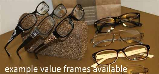 value eyeglass frames choices in Palmdale